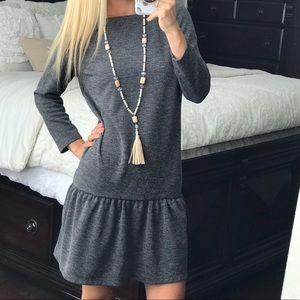 LOFT Grey Dress